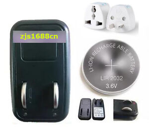 1x EU Charger + 4x LIR2032 Rechargeable Button Coin Battery + 1x AU Plug Adapter