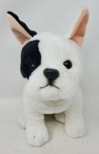 """Realistic Dog Plush Toys R Us Animal Alley French Bulldog Stuffed 11"""" H x 8"""" L"""