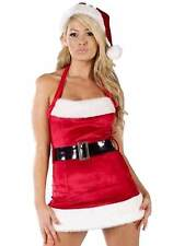 New Ladies Santa Dress, Belt & Hat UK 14 - 16 Fancy Dress Christmas Santa Claus