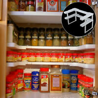 Spice Shelf Patented Spicy Rack Stackable Organizer Pantry Cabinet Free Ship