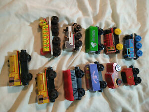 Thomas The Train And Friends Wooden Trains Lot 11