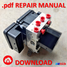 REPAIR MANUAL .pdf MK60.1 ATE ABS Pump ECU 10.0212 / 10.0961 Refurbish Brushes