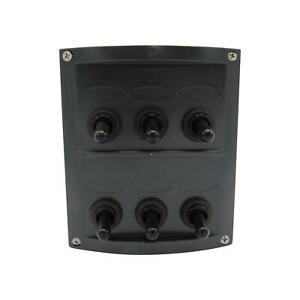 6 Gang Switch Panel 12V (Toggle Rocker Boat Marine Car Camper)