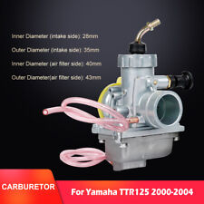 Replacement Carb For Yamaha TTR125 TTR 125 TTR-125 Carburetor 2000-2004 VM24 USA