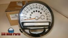 MINI Genuine Speedometer Instrument Panel KM/H 62109232430