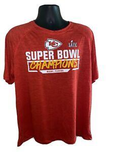 Fanatics KC CHIEFS, Super Bowl 54 TEE, Red, XL, NWOT*