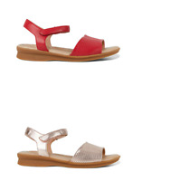 Womens Hush Puppies Nigella Sandals Straps Summer Casual Work Comfortable Shoes