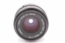 Canon FD 50mm f/1.8 Manual Focus Lens for Canon Digital SLR Cameras