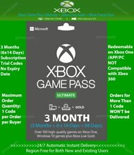 Xbox Live Gold + Game Pass (Ultimate) 3 Month (6x 14 Days) Code Instant Delivery