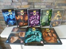 BABYLON 5 : COMPLETE SEASONS 1 2 3 4 5 & MOVIES COLLECTION DVD SET. UK.