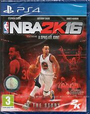 NBA 2K16 Basketball GAME PS4 (2016) ~ NEW / SEALED