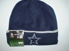 NFL DALLAS COWBOYS  ADULT ONFIELD TECH KNIT HAT NEW ERA   NAVY GRAY  NEW NWT