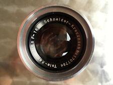 NICE Schneider-Kreuznach Tele-XENAR 5,5 18cm M39 Schraubanschluß in OVP Classic
