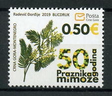 Montenegro 2019 MNH Mimosa Festival 50th Anniv 1v Set Plants Nature Stamps