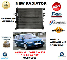 Per Vauxhall Zafira A F75 1.6 1.8 2.2 16V 1998-2005 RADIATORE ** Qualità OE **