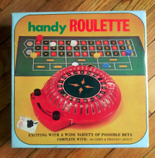 Handy Roulette Game Vintage 1970s