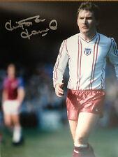 Leighton JAMES-ancien footballeur Sunderland-superbe signé photo couleur