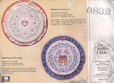 The Creative Circle Candlewicking Kit 0832 Circle Of Love NEW
