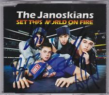 The Janoskians - Set This World On Fire - CD (Signed) 1 x Track Australia