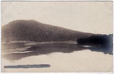 1907-15 RPPC Tunkhannock PA Susquehanna River Wyoming RARE REAL PHOTO Postcard