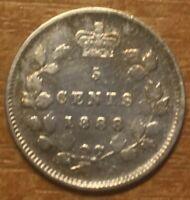 Canada 5 cents 1888, Silver!
