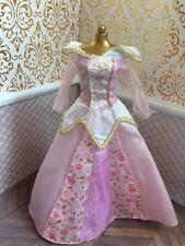 Aurora Sleeping Beauty Pink Dress Disney Princess Barbie Doll