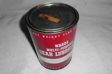 Vintage Montgomery Wards Multi Purpose Gear Lubricant Grease Oil 5 lb Can