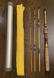"Eagle Claw Trailmaster 4-Piece Spin/Fly Rod TRP602 - 6' 6"" w/ Carry Tube 6-1/2"