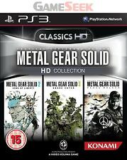 METAL GEAR SOLID HD COLLECTION - PLAYSTATION PS3 BRAND NEW FREE DELIVERY
