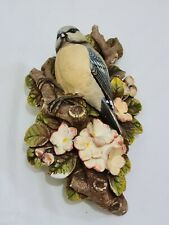 More details for legend products chalkware blue tit ornament bird hanging figure (like bossons) 2