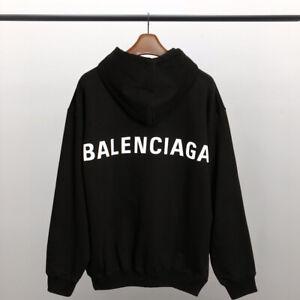 Balenciaga Classic Back Logo Unisex Hoodie