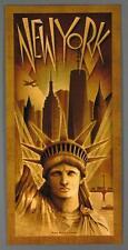 New York City, Metropolis, Statue of Liberty Freedom Tower Large Poster Brancato