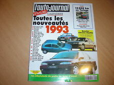 AJ N°22 1992 BMW 850 CSi.BMW 530i.Twingo