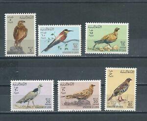 LIBYA 1965 BIRDS UNUSED (MNH)