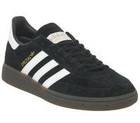 Adidas Handball Spezial Trainers Core Black White Gum Trainers Shoes