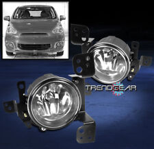 2014 2015 MITSUBISHI MIRAGE DE ES SE BUMPER CHROME FOG LIGHT LAMP W/BULB+HARNESS