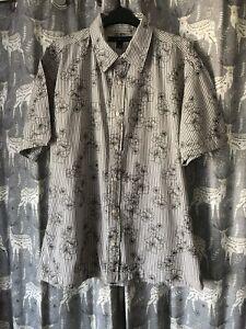 Mens Embroided Tommy Hilfiger Shirt XL