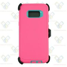 Pink Tl for Samsung Galaxy S8 Plus Defender Case Cover [Belt Clip Fits Otterbox]