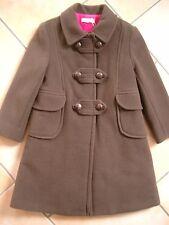 (j79) CACHAREL Girls Veste manteau manteau d'hiver a-Forme Doublure en Rose gr.128