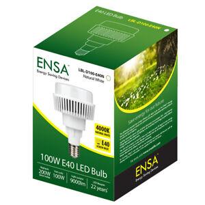 Energy Saving Long Life ENSA 100W E40 Retrofit High Bay LED Bulb