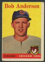 1958 Topps #209 Bob Anderson VG/VGEX RC Rookie Cubs 21797