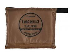 SNUGPAK HANDS & FACE ANTIBACTERIAL TRAVEL TOWEL COYOTE BROWN BUSHCRAFT CAMPING