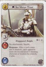 3 x Ser Meryn Trant AGoT LCG 1.0 Game of Thrones The Kingsguard 55