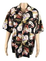 GULF COAST | Vintage Hawaiian Aloha Button Shirt | Made In Australia | Size M