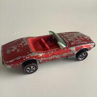 Hot Wheels Redline Custom Firebird Early Red & Red Deep Dish 1967 HK Sweet 16