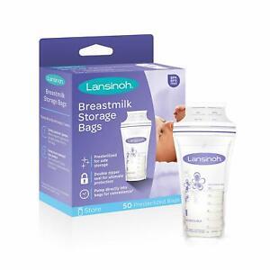 Lansinoh  Breast Milk Breastmilk Storage Bags 50 Pack- Stock in Sydney