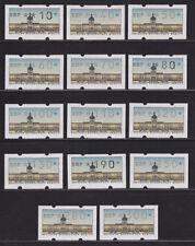 Echte Briefmarken aus der Philatelie aus Berlin