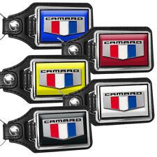 2016 Chevrolet Camaro Emblem Design Exterior Colors Faux Leather Key Chain