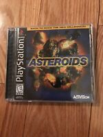 Asteroids (Sony PlayStation 1, 1998) Complete