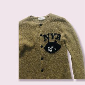 Ne'-net  Issey Miyake Green Color Cardigan Size 2 / Medium